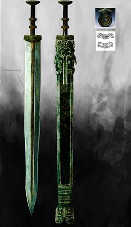 图文:《木乃伊3》视觉效果-中国古代剑图片