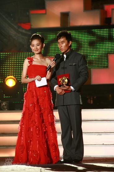 图文:龙的传人颁奖--进步奖王海祥
