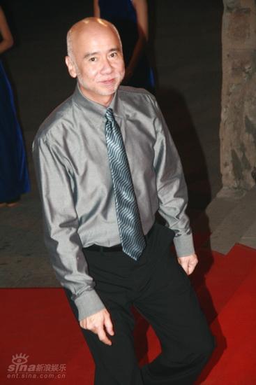 图文:龙的传人颁奖典礼红毯--鲍德熹