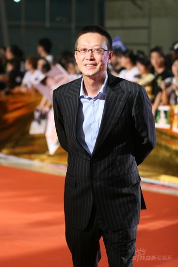图文:《画皮》首映红毯--导演刘伟强助阵