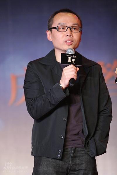图文:《画皮》庆功会--主题歌词作者陈少琪