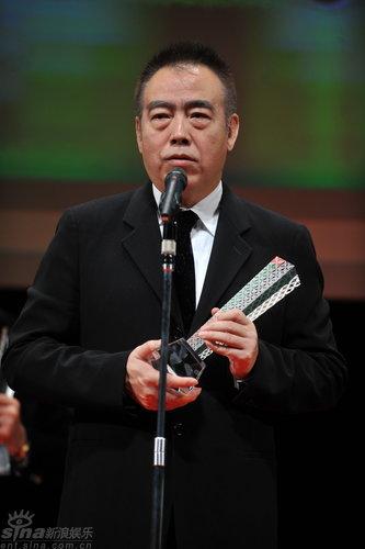 图文:东京电影节闭幕陈凯歌发表获奖感言
