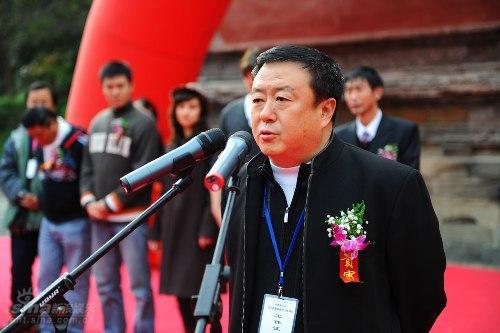 图文:《勇士的最后秘密》开机--导演尤小刚