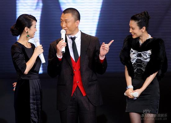 图文:《梅兰芳》首映庆典--孙红雷调侃陈红