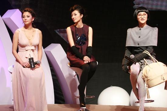 图文:《女人不坏》首映--女星组成答题队