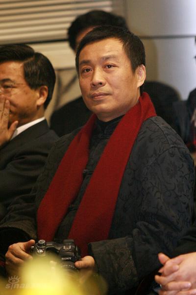 图文:《建国大业》开机--中影副总经理江平
