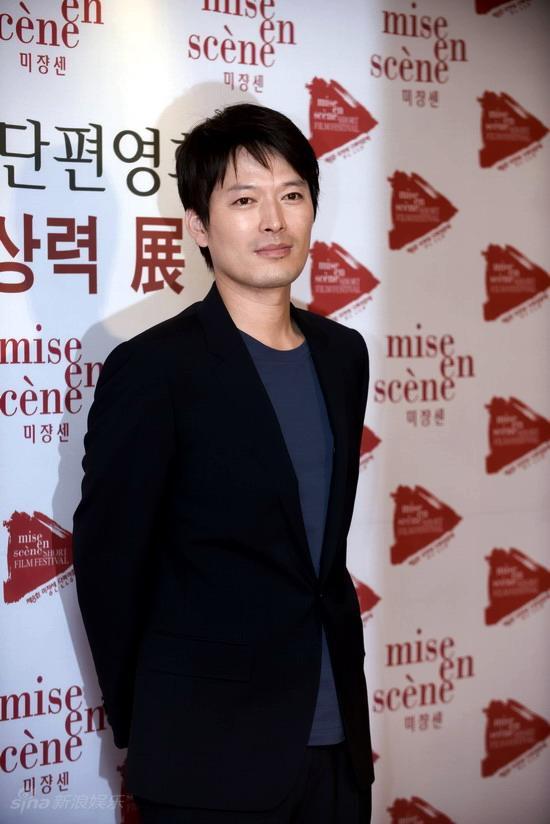 图文:韩国短片电影节开幕--男星郑在英