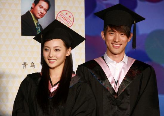 图文:《我们毕业的夏天》开机-张嘉倪吴建飞开心笑