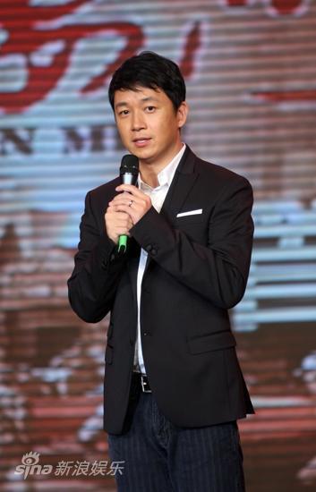 图文:《天安门》首映-男主角潘粤明