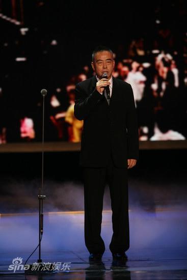 图文:第13届华表奖现场--陈凯歌讲述历史