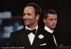 《单身男人》水城首映汤姆-福特优雅依旧(图)
