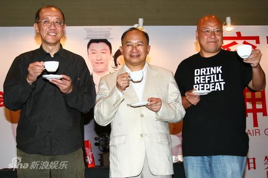 图文:《窈窕绅士》见面会-张家振吴宇森李巨源