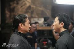 《叶问2》上海探班甄子丹洪金宝巅峰对决(图)