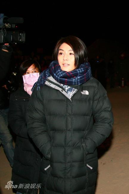图文:《西风烈》探班--主演杨采妮
