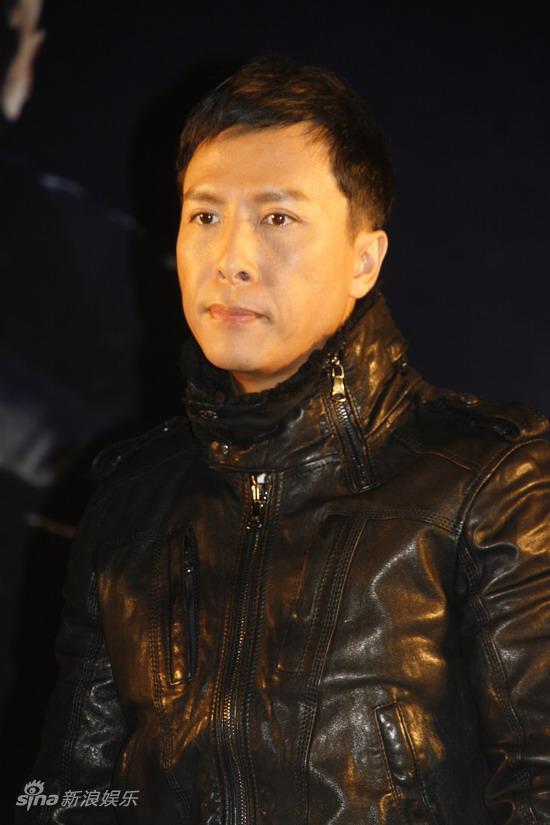 图文:《十月围城》上海宣传-甄子丹