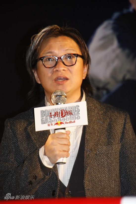 图文:《十月围城》上海宣传-监制陈可辛