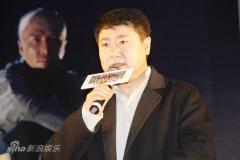 《十月围城》上海宣传甄子丹否认和黎明不和