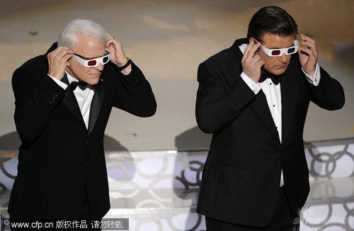 图文:第82届奥斯卡颁奖现场主持人齐搞怪