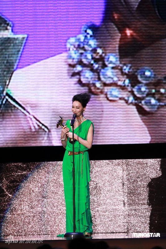 图文:亚洲电影大奖-惠英红凭《心魔》获最佳女配角