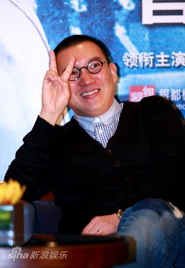 图文:《枪王之王》官网启动-杜汶泽搞笑pose