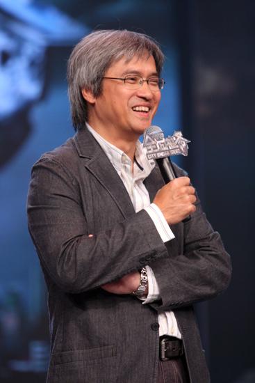 图文:《全城戒备》见面会--导演陈木胜