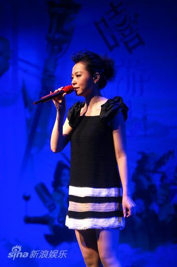 图文:《嘻游记》主题曲发布-张靓颖演唱