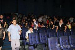 《唐山大地震》上映首日上座率高观众感动落泪