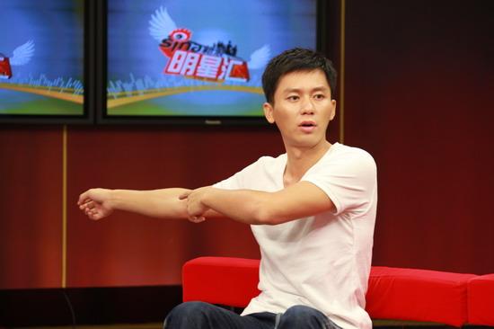 图文:《大地震》主创做客-李晨回忆拍摄