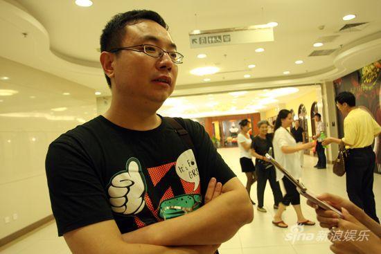 图文:华谊影院开业-观众受访
