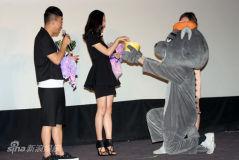 《假装情侣》见面会黄渤江一燕为粉丝证婚