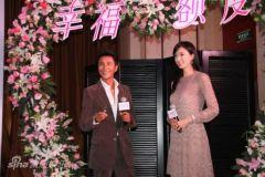 《幸福额度》公映上海宣传陈坤霸气求婚林志玲