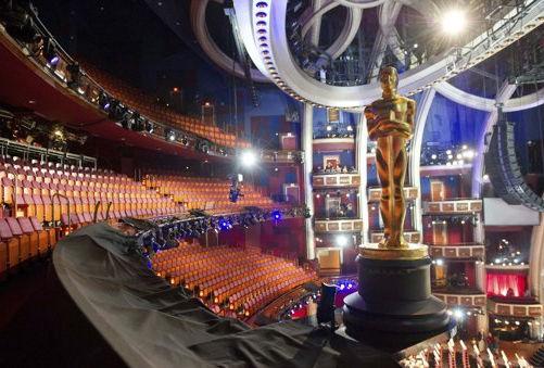 第84届奥斯卡红毯 颁奖典礼现场布置