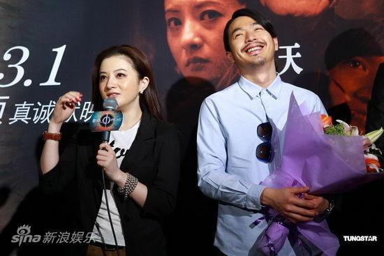 金铭(左)与李威