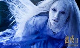 《画皮Ⅱ》周迅冰裂造型曝光如瓷娃娃