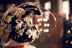 《铜雀台》伊能静版皇后华服亮相造型绝美