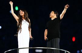刘欢携手莎拉-布莱曼梦幻演绎《我和你》