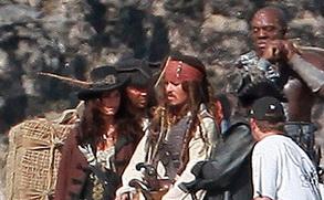 《加勒比海盗4》热拍 德普携手克鲁兹