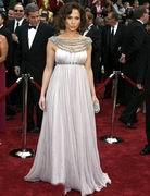 第79届奥斯卡金像奖-珍妮弗古典拖地长裙唯美
