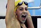 赖斯获女子混合400米金牌