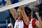 中国女排战胜波兰女排