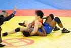 许莉自由式55公斤半决赛获胜
