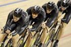 自行车男子追逐赛英国称雄
