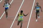 牙买加女选手400米栏夺冠
