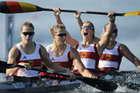 女子四人皮艇500米德国夺金