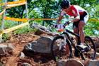 德国选手获山地车女子冠军