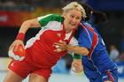 手球女子韩国摘铜