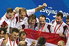 男子水球匈牙利夺冠