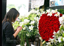 心型玫瑰寄托思念