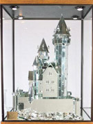 玻璃镜片砌的城堡
