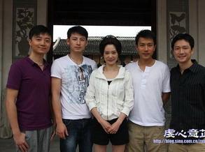 四大帅哥和刘雪华(图)